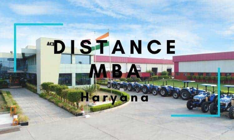 Distance MBA Options in Haryana