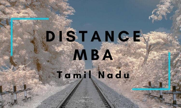 Distance MBA Options in Tamil Nadu