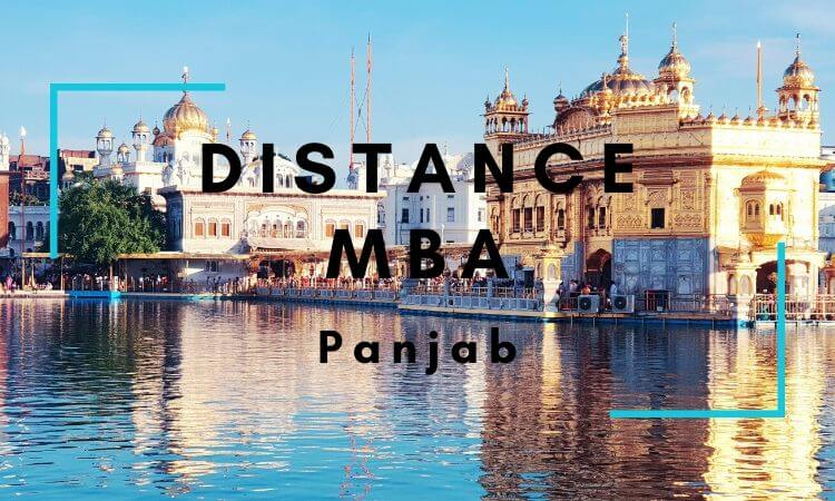 Distance MBA Options in Panjab