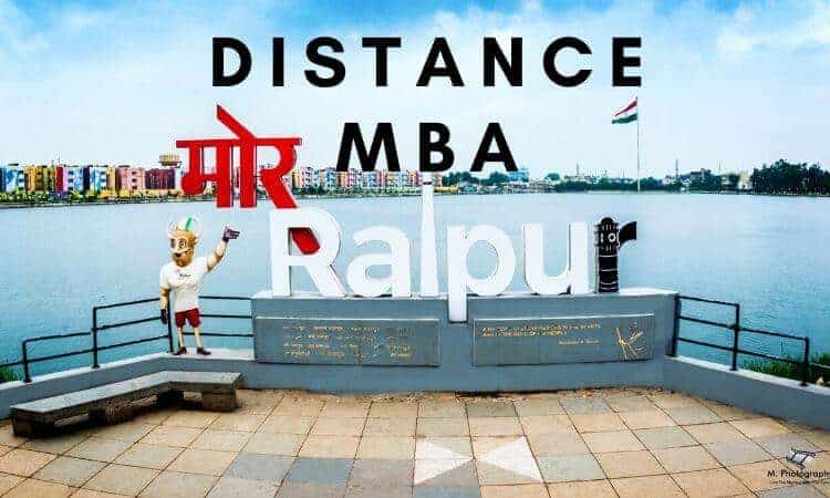 Distance MBA Options in Raipur