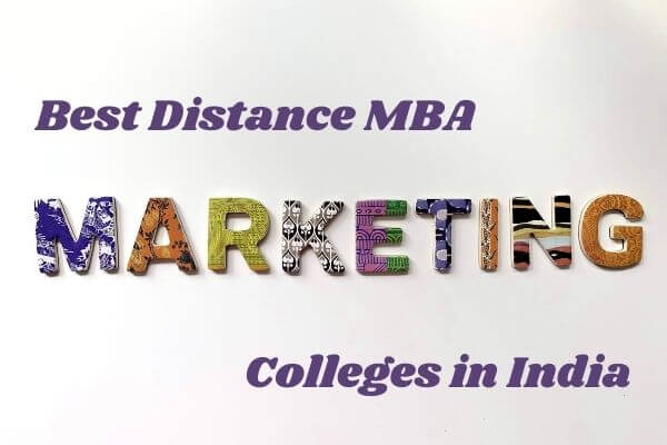 Best Distance MBA Marketing Colleges in India